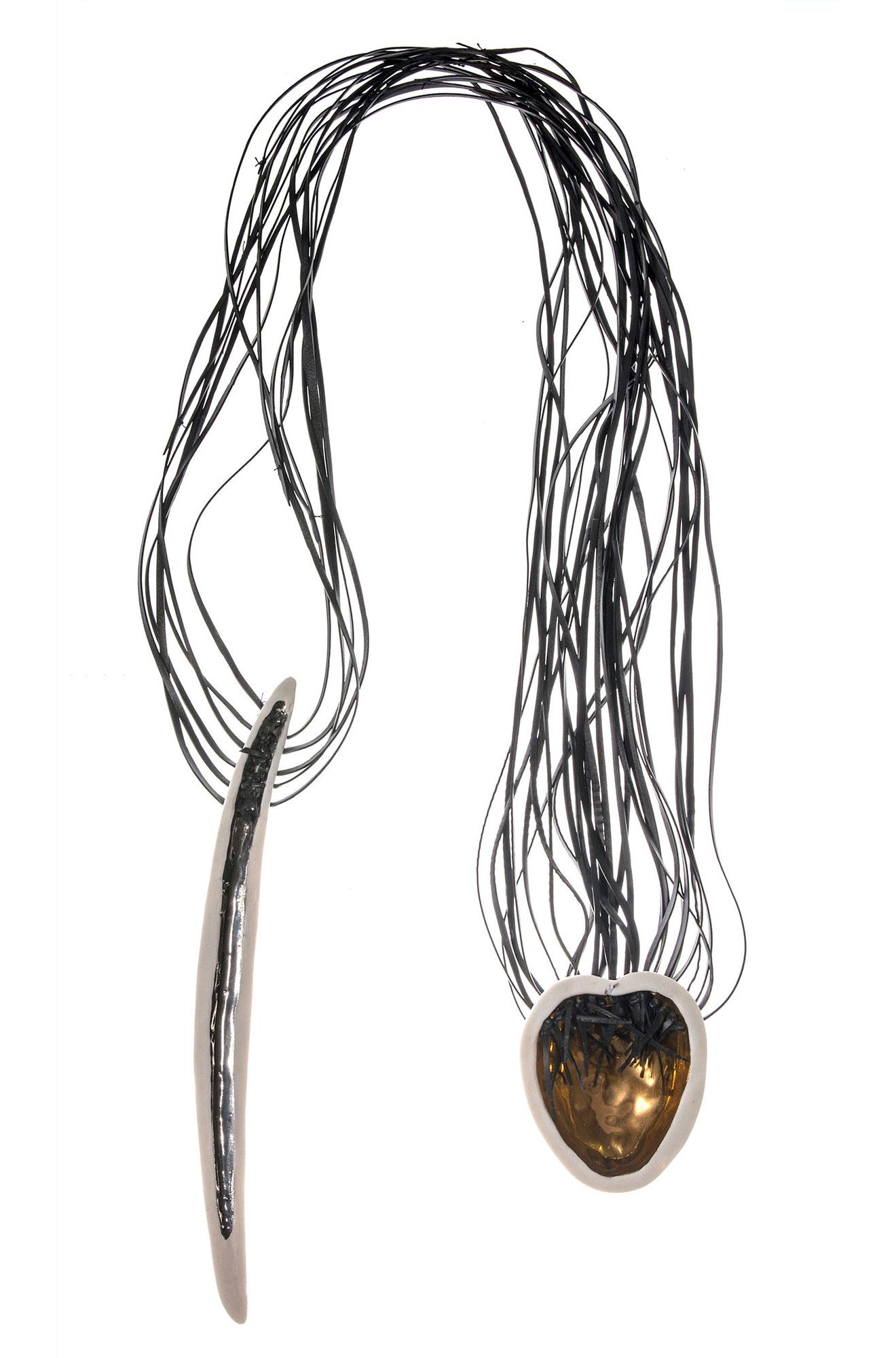 Maath's-feather-necklace-Immortalities-collection - design anna kiryakova